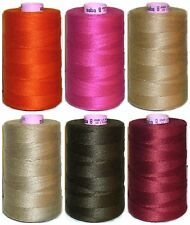 AMANN SABA THREAD 8s, 800M 100% POLYESTER SEWING THREAD, CHOOSE COLOUR, ART 7515