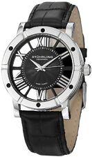 Stuhrling Original Men's 881 02 Classic Analog Display Swiss Quartz Black Watch