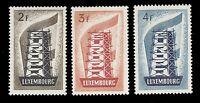 Luxembourg 1956 EUROPA SET MNH #318-20 CV$250.00