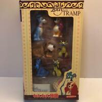 Rare YUTAKA Disney Movie Friends LADY and the TRAMP Figure Toy Set Vintage Japan