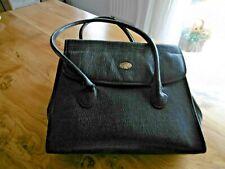 MAC DOUGLAS grand sac Vintage en cuir grainé noir