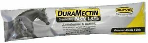 Duramectin Wormer Paste For Horses  Removes Worms and Bots  3 Tubes