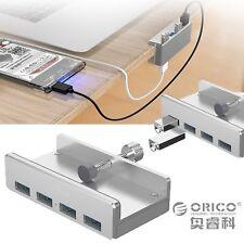 ORICO Aluminum 4 Ports USB 3.0 Type-A Clip HUB Adapter mit 1m Kabel für Laptop