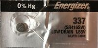 ENERGIZER 337 1 Pce Battery  L& W SR416SW 623 SB-A5  Authorized seller