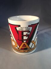 More details for rare ve day 50th anniversary victory europe mug 1945-95 kilncraft england ww2