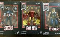 Marvel Legends 80th anniversary Thor Iron Man Captain America Lot