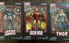 Marvel Legends 80th anniversary Thor Iron Man Captain America Lot