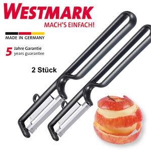 2 x Westmark Sparschäler Kartoffelschäler Gemüseschäler Spargelschäler Schäler
