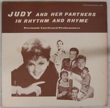 Judy Garland and her partners 33 tours In Rythm & Rhyme