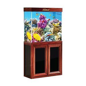 50 Gallon Fish Tank with Premium Tempered & Ultra Transparent Glass Aquariums
