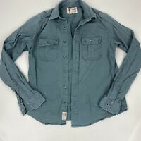 Abercrombie and Fitch Mens 1892 Button Down Shirt Long Sleeve Size Large