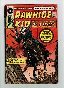 FRENCH COMIC FRANÇAIS EDITION HERITAGE WESTERN  RAWHIDE KID  # 53  mS20