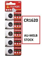 5pcs TQ CR1620 3v Battery Cr-1620 Coin Cell 1620 watch battery Melbourne
