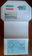 AEROGRAMMA POSTA AEREA 1983 INTERO L. 500 CINQUANTENARIO 2a TRASVOLATA ATLANTICA