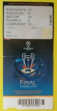 2014 CHAMPIONS LEAGUE FINALE REAL MADRID Atletico Madrid (ospitalità TICKET)