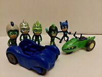 PJ Masks Lot 5 Figures 2 Vehicles