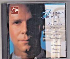 Telemann for Trumpet - CD - Stephen Burns