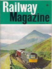 "the railway magazine-AUG 1965-TYPE ""2"" BO-BO DIESEL-ELECTRIC no.D5356."