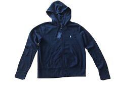 NWT Polo Ralph Lauren Womens Hoodie Sweatshirt Full Zip  Pony Logo Size L