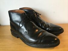 Crockett & Jones Men's Black Boots 'Brecon' Size 7 E Good Used Condition