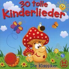 30 TOLLE KINDERLIEDER-DIE KLASSIKER  CD NEU