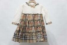 BURBERRY  CLASSIC CHECK  COLLAR TODDLER BABY GIRL DRESS 12 MONTHS