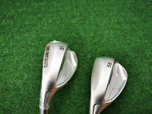 Cleveland Cbx 2 Wedge set, 54 sand wedge  58 Lob wedge 9.9/10 cond. LEFT HANDED