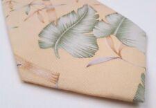 TOMMY Bahama NECKTIE Tie YELLOW Multicolor HAWAIIAN Silk MENS Classic REGULAR Sz