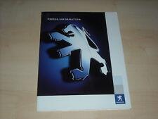 57243) Peugeot 20 Cup Pressemappe 2005