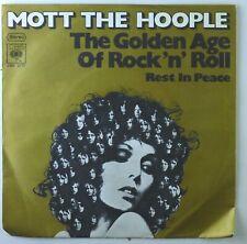 "7"" Single - Mott The Hoople - The Golden Age Of Rock 'N' Roll - S3472 - cleaned"