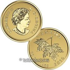 Canada 2016 Effigy #4 Queen Elizabeth II Susanna Blunt 2003 $10 Gold Maple Leaf