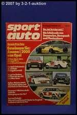 Sport Auto 8/80 Nordstadt Golf Cabrio Speedster + Poster