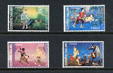H284 Thailand 1973 #681-4 Thai literature scenes 4v. Mnh