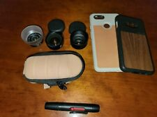 New listing Moment lens Bundle & Cases (Wide, Telephoto, & marco lens)