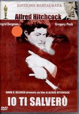 HITCHCOCK: IO TI SALVERO' - DVD NUOVO E SIGILLATO, EDIZIONE RESTAURATA