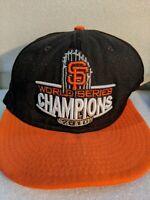 New Era San Francisco SF Giants World Series Fitted Hat (Black) MLB Cap 8