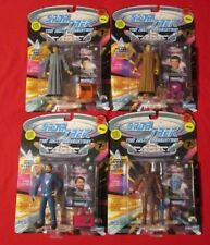 Lot Of 4 1994 Star Trek TNG Action Figures Collectors Series 7th Season LaForge