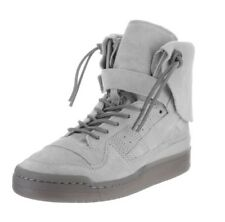Adidas Forum Hi Moc Mocassin Men's Athletic Sneakers B27682 Gray Stone Size 10.5