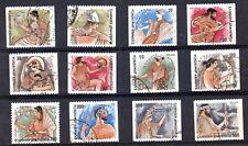 OLYMPIAN GODS 1986 Used stamp Mythology Hermes Aphrodite Ares Apollo Juno Jupier