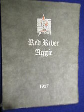 """1927 NORTHWEST SCHOOL of AGRICULTURE """" THE RED RIVER AGGIE"""" Crookston, Minnesota"""