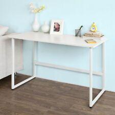 SoBuy® Schlichtes Design, Schreibtisch,Computertisch,Konsolentisch,FWT13-W