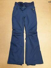BB858 WOMENS QUICKSILVER NAVY BLUE SKIING SNOWBOARD TROUSERS UK XS 6-8 W26 L30