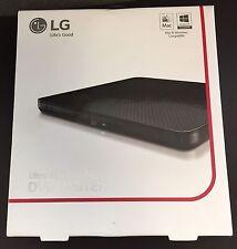 NEW LG USB 2.0 UltraSlim External DVDRW Drive CDRW CD/DVD Burner Writer SP80NB60