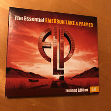 EMERSON LAKE & PALMER The Essential 3.0 Limited Edition VERY RARE 3 CD SET !!!