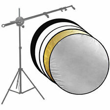 """43"""" 5in1 PhotoStudio 110CM Photography Collapsible Disc Panel Reflector US SELLE"""