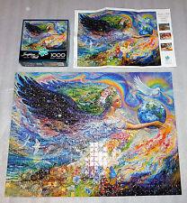 Earth Angel Josephine Wall Buffalo 1000 Piece Jigsaw Puzzle 27x20 Dove Animals