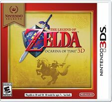 Nintendo Selects The Legend of Zelda Ocarina of Time 3D 3DS Game Videogame