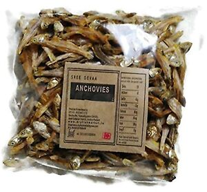 Dry Fish - Anchovies (500 grams) , free shipping worldwide
