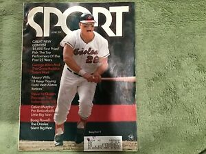 Vintage Sport Magazine June 1971 Boog Powell The Orioles Silent Big Man
