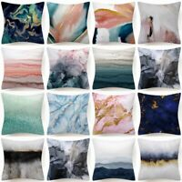 """PILLOW COVER Marble Abstract Decorative Soft Double-Sided Cushion Case 18x18"""" US"""